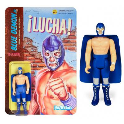 Legends of Lucha Libre: Blue Demon Jr. ReAction Figure