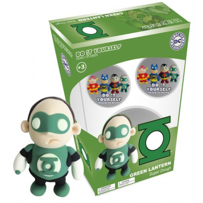 DC Comics: Green Lantern Super Dough Characters - Do It Yourself