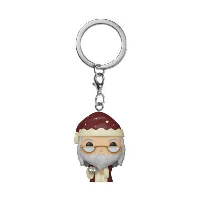 Pocket Pop! Keychain: Harry Potter Holiday - Dumbledore