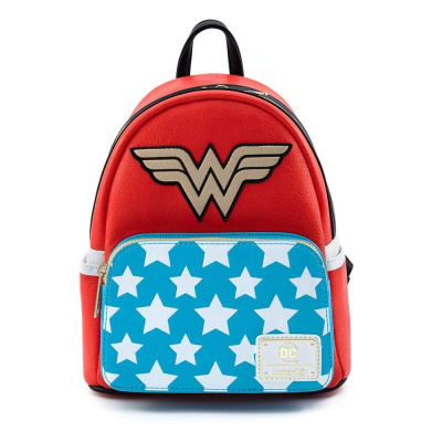 Loungefly Vintage Wonder Woman Cosplay Mini Backpack