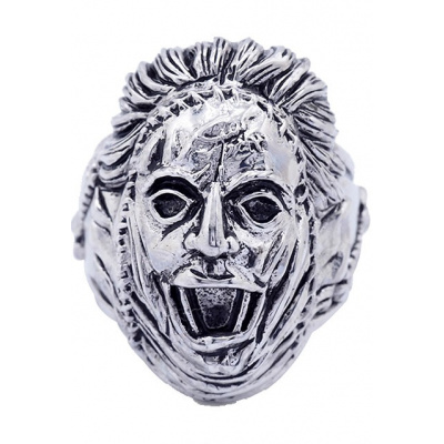 The Texas Chainsaw Massacre: Leatherface - Silver Plated Ring Size 9
