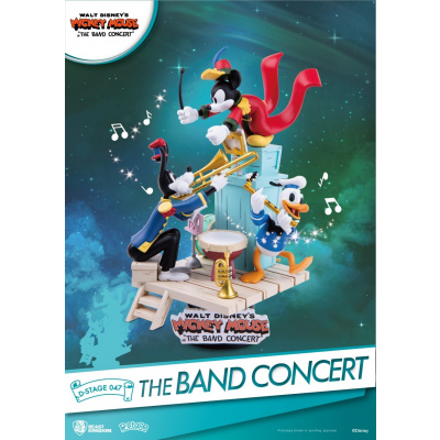 Disney: D-Stage - The Band Concert PVC Diorama