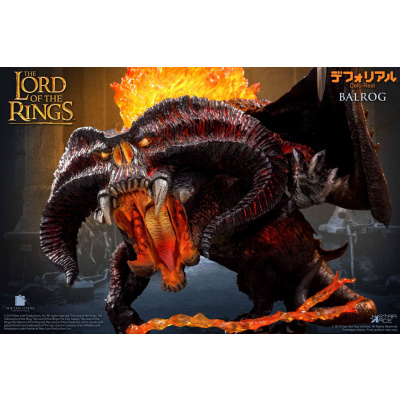 Lord of the Rings: Deluxe Defo-Real Balrog 6 inch Scale Figure