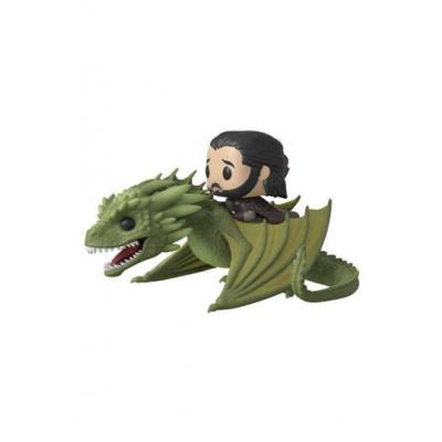 Game of Thrones POP Rides Vinyl figurine Jon Snow & Rhaegal 18 cm