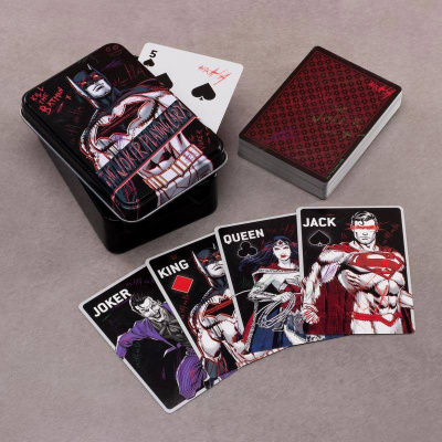 DC COMICS - The Joker - Playing Cards Game - 52 Cards