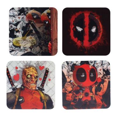 Marvel: Deadpool Lenticular Coasters
