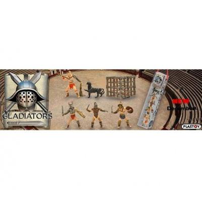 Gladiators Figure 6-Pack in Tube Asst.