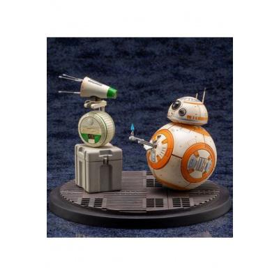 Star Wars Episode IX pack 2 statuettes 1/7 PVC ARTFX+ D-O & BB-8 13 cm