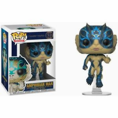 The Shape of Water POP Movies Amphibian Man(green)/ Chase (red)