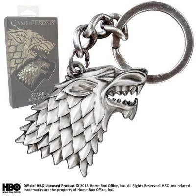 Game Of Thrones: Stark Keychain