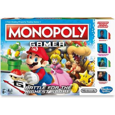 Monopoly - Gamer Edition (Hasbro) /Board Game