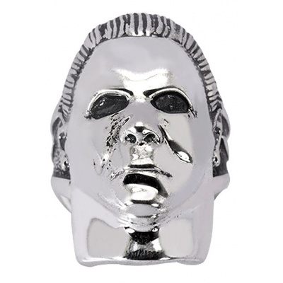Halloween: Michael Myers - Sterling Silver Ring Size 11