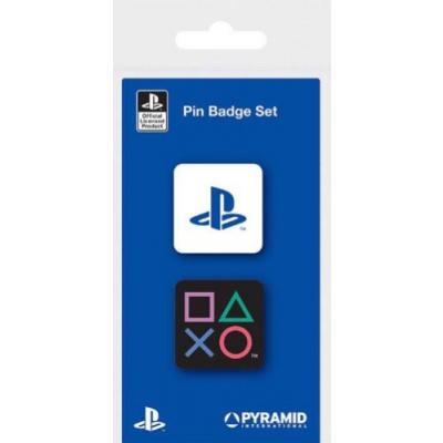 Playstation: Enamel Pin Badge Set