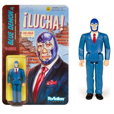 Legends of Lucha Libre: Blue Demon Jr. in Suit ReAction Figure