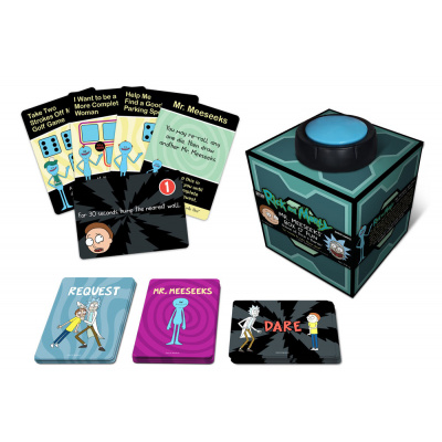 Rick and Morty: Mr. Meeseeks' Box o' Fun Dice and Dares Game