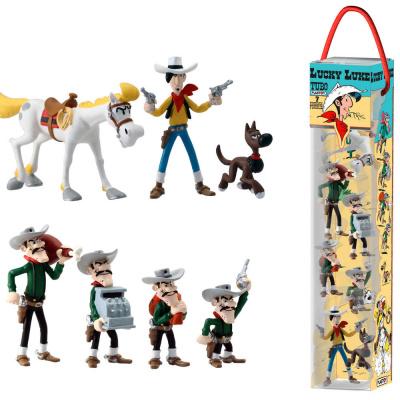 Lucky Luke: Mini Figure 7-Pack