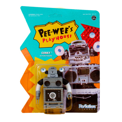 Pee-Wee's Playhouse: Conky 3.75 inch ReAction Figure