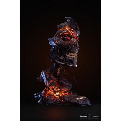 Terminator 2: T-800 Battle Damaged 1:1 Scale Art Mask Statue