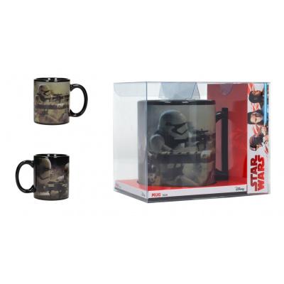 Star Wars The Last Jedi: Stormtroopers Battle Black Mug