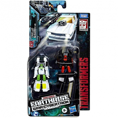 Transformers War For Cybertron Earthrise Micromasters Trip-Up & Daddy-O