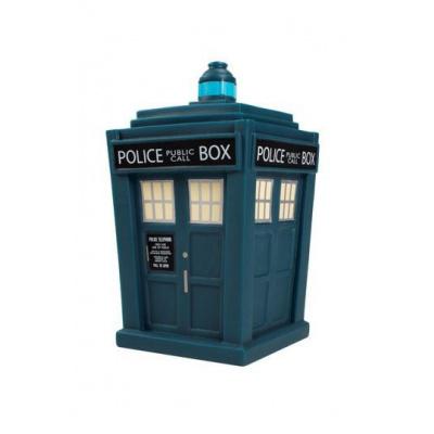 Doctor Who Titans Vinyl Figure 13th Doctor Tardis NYCC 2018 Exclusive 16 cm