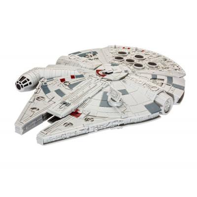 Star Wars pack Build & Play (sound & light) 1/164 Millennium Falcon