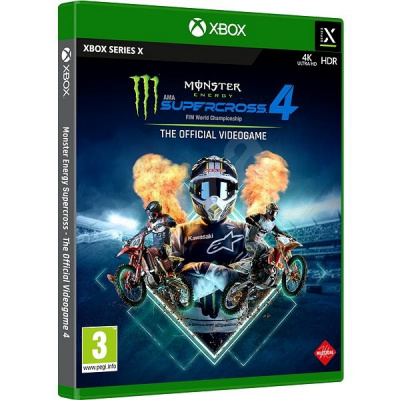 Monster Energy Supercross 4: The Official Videogame (Xbox series X)