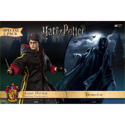 Harry Potter: Dementor with Harry Potter 1:8 Scale Twin Pack