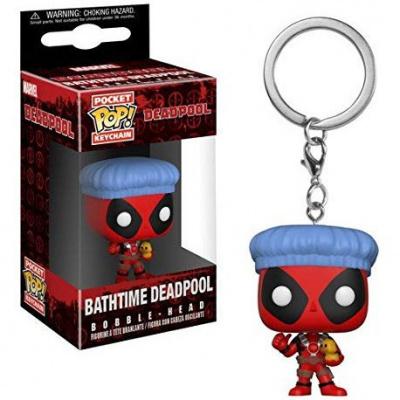 Pocket Pop Keychains : Marvel - Deadpool Bathtime