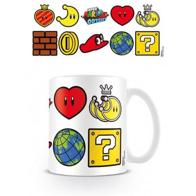 Super Mario Odyssey mug