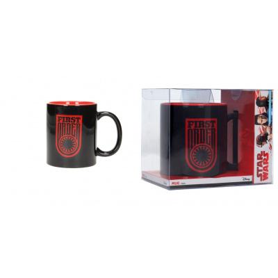 Star Wars The Last Jedi: First Order Symbol and Logo Black-Red Mug