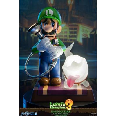 Luigi's Mansion 3 statue Luigi & Polterpup Collector's Edition