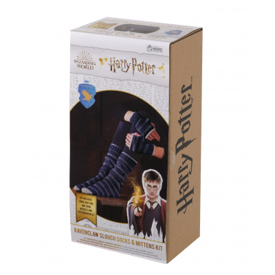 Harry Potter: Ravenclaw Slouch Socks and Mittens Knit Kit