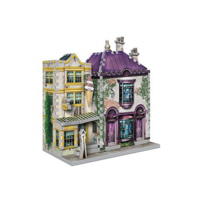 Harry Potter Puzzle 3D DAC Madam Malkin's Robes for All Occasions & Florean Fortescue's Ice Cream