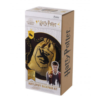 Harry Potter: Hufflepuff Drawstring Bag Knit Kit