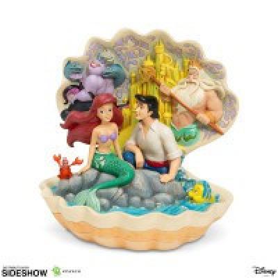 Disney: The Little Mermaid - Shell Scene Figurine