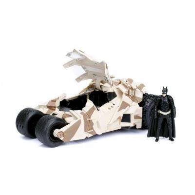 DC Comics: 2008 The Dark Knight Batmobile with batman Figure camouflage version 1:24