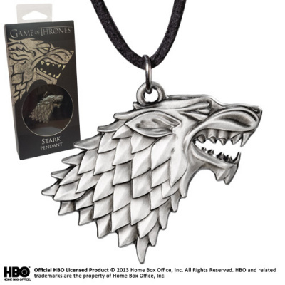 Game of Thrones: Stark Pendant and Costume
