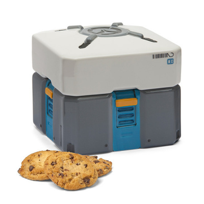 Overwatch: Loot Box Ceramic Cookie Jar