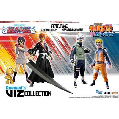 VIZ Collection: Series 1 - Bleach and Naruto 6 inch 12 Piece Asst.