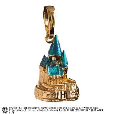 Harry Potter: Lumos Charm Hogwarts Castle Gold