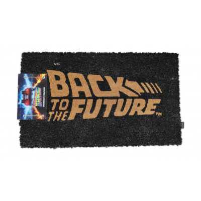Back to the Future: Logo 60 x 40 cm Doormat