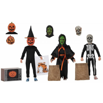 Halloween 3: Season of the Witch 8 inch Clothed Action Figure 3-Pack