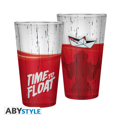 IT - Large Glass - 400ml - Time to Float - x2