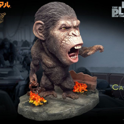 Planet of the Apes: The Origins Deform Real Series Soft Vinyl Caesar Chain Ver. Deluxe