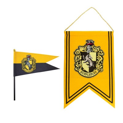Harry Potter: Hufflepuff Banner and Pennant