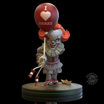 IT: Pennywise 'I Heart Derry' Q-Fig PVC Statue