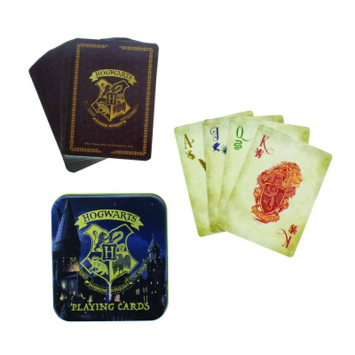 Harry Potter: Hogwarts Castle Playing Cards