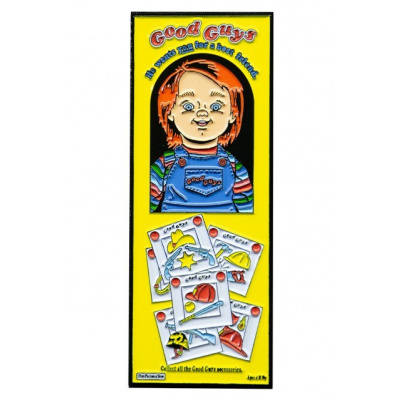 Child's Play 2: Good Guys Box Enamel Pin