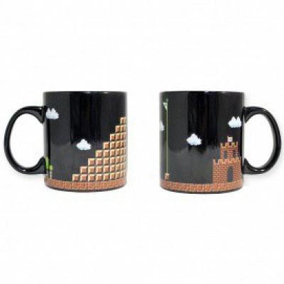 Super Mario Bros Mug - 8-Bit Boss Fight Coffee Mug